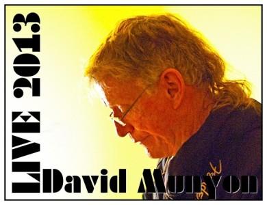 David Munyon Live 2013