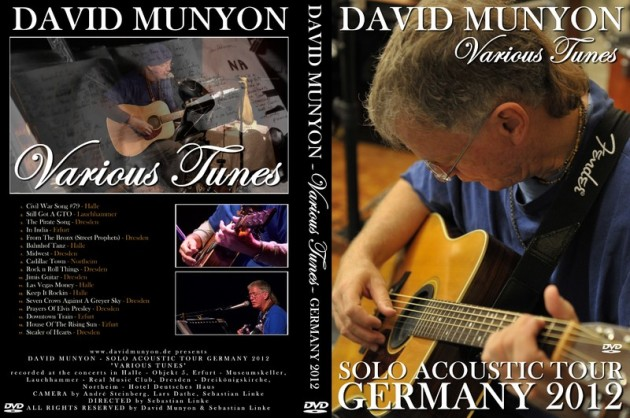 David Munyon Tour 2012 DVD Various Tunes