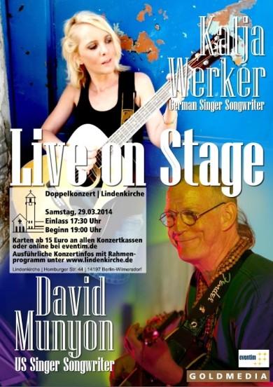 David Munyon Katja Werker Doppelkonzert in Berlin 2014
