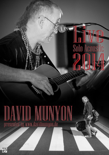 David Munyon LIVE Solo Acoustic TOUR 2014