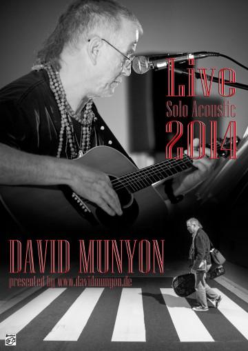 David Munyon LIVE Solo Acoustic TOUR 2014